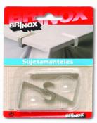 SUJETAMANTELES BRINOX (BL.2U) 7020 INOX