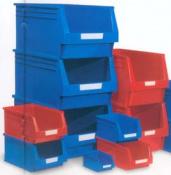 GAVETA APILABLE PLASTICO N.51 AZUL 170 X 100 X 80 MM. 0,8 LITROS