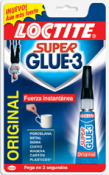 ADHESIVO SUPER GLUE-3  3g-N.1 LIQ.