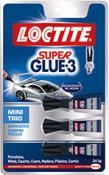 SUPER GLUE MINI TRIO 3X1G 1353236