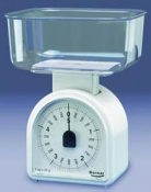 BALANZA COCINA OMEGA 5kg-25g 0/3580-BLANC