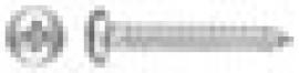TORNILLO PARKER DIN 7981 C/ALOMADA PHILIPS ZINCADO 3,5 X 13