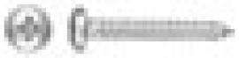 TORNILLO PARKER DIN 7981 C/ALOMADA PHILIPS ZINCADO 3,5 X 25