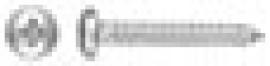 TORNILLO PARKER DIN 7981 C/ALOMADA PHILIPS ZINCADO 3,9 X 25