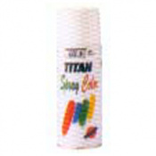 SPRAY TITAN ESMALTE SINT.400ML NEGR.MATE