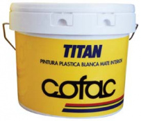 PINTURA PLAS.TITAN KOLOREA MAT.INTERIOR 12K