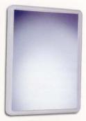 ESPEJO BANO CONIC PLASTISAN 52301/5 BLCO