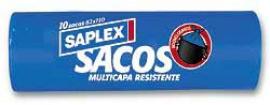 SACO BASURA CIERRA FACIL 120L (10U) 80X110 RESISTENTE