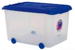 CAJA MULTI-BOX C/RUEDAS 70 L 11004-AZUL