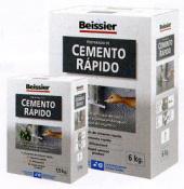 CEMENTO RAPIDO BEISSIER 6KG