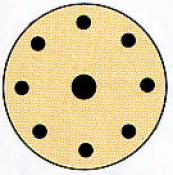 DISCO LIJA 125MM, VELCRO G. 80 STANLEY