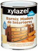 BARNIZ AL AGUA INTERIOR XYLAZEL 750 ML INCOLORO BRILLANTE