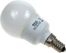 LAMPARA AHORRO MINI ESFERA  7W E-14 827