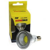 LAMPARA LED COB 5W E14 SONEDAS 6000K-350LM