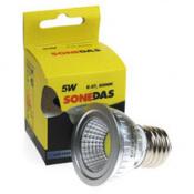 LAMPARA LED COB 5W E27 SONEDAS 6000K-350LM