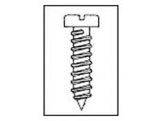 TORNILLO R/CH C/AL ZINCADO(BL) 28205-4X5/8