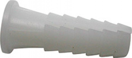 TACO PLASTICO BLANCO FER (BL) 29031-6 mm