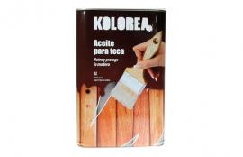 ACEITE TECA KOLOREA 5L-INCOLORO