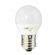 LAMPARA LED ESFERICA LUMECO E27 5W 810L 3.200K