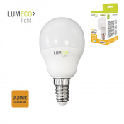 LAMPARA LED ESFERICA EDM 98323 5W E14 CALIDA