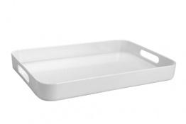 Bandeja camarero rectangular 433x293x48 blanc