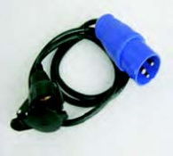 PROLONGADOR CABLE GOMA M.C/H.S 21018-1,5m